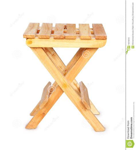 wooden c stool folding wooden folding stool stock photo image 16516510