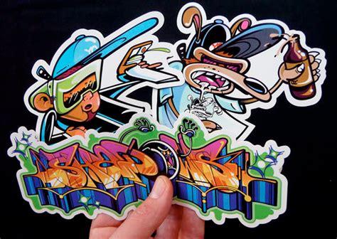 rime graffiti stickers senses lost