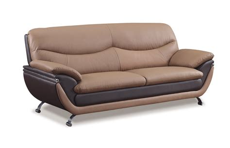 rv sectional sofa global furniture usa 2106 sofa brown dark brown