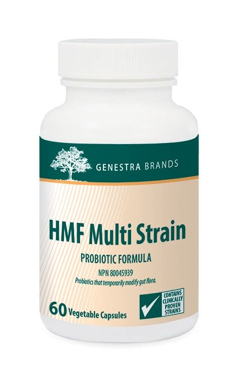 What Probiotic Strain Detoxes by Hmf Multi Strain Fit N Healthy Nutrition Loss