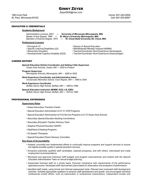 qualification section of resume qualifications resume ginny zeyer