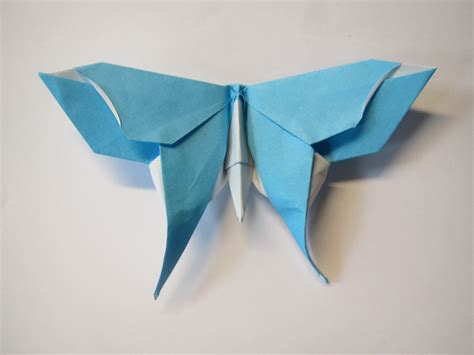 How To Make A Origami Butterfly - origami butterfly version 2 origami butterfly origami