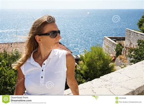 woman looking into distance royalty free stock photos image 5371368 young woman looking into the distance royalty free stock