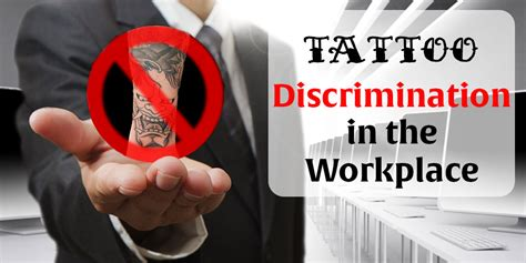 tattoos in the workplace discrimination discrimination in the workplace another