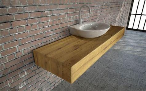 echtholz waschtisch tischfabrik24 wt 01 holz waschtischplatte auf eiche