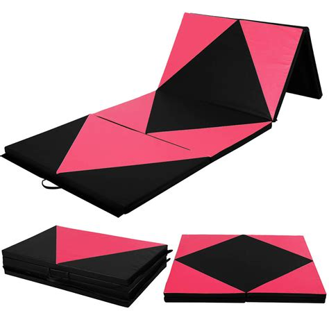 Where To Buy Mats For Gymnastics by 4 X10 X2 Quot Gymnastics Mat Folding Panel Thick Fitness