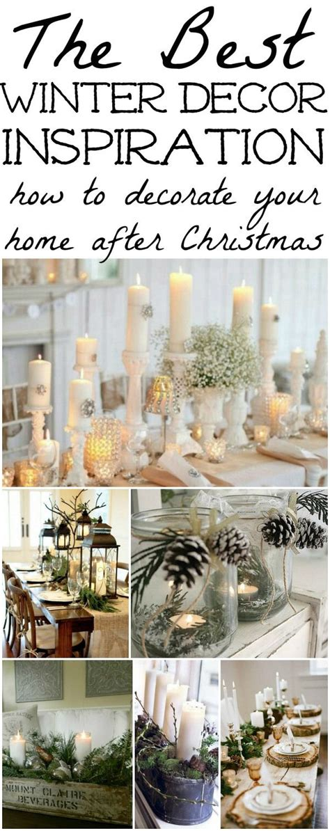 winter decorations winter table ideas more the