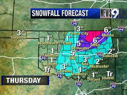 weather news9com oklahoma city ok possible severe weather snow in oklahoma s forecast