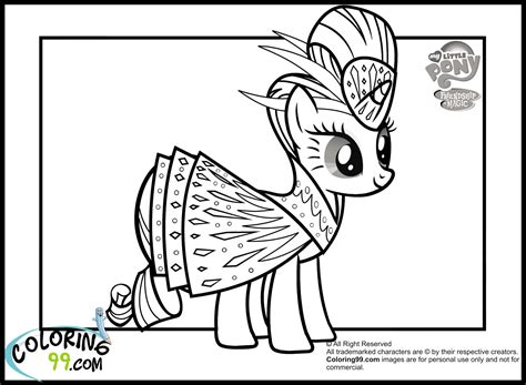 rainbow dash dress coloring page my little pony rarity coloring pages minister coloring