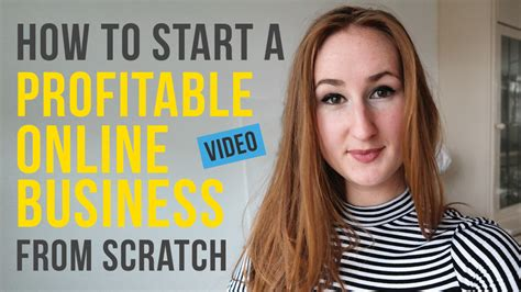 how to start a profitable business from scratch vlog