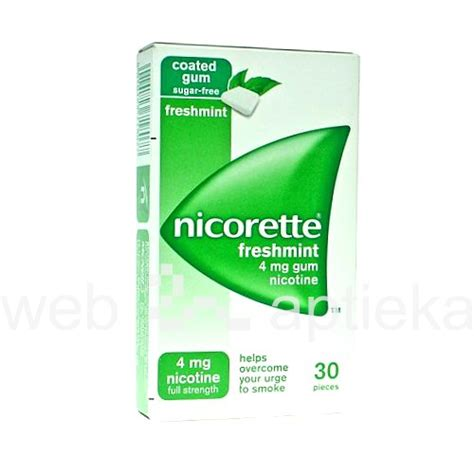 Nicotine Detox Rehab by Buy Nicorette Freshmint 4 Mg Medicated Chewing Gum N30