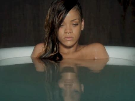 rihanna bathtub watch rihanna be all sad in a bath in her video for stay