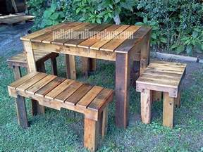 Pallet Patio Table by Creative With Pallets Diy Pallet Furniture Plans