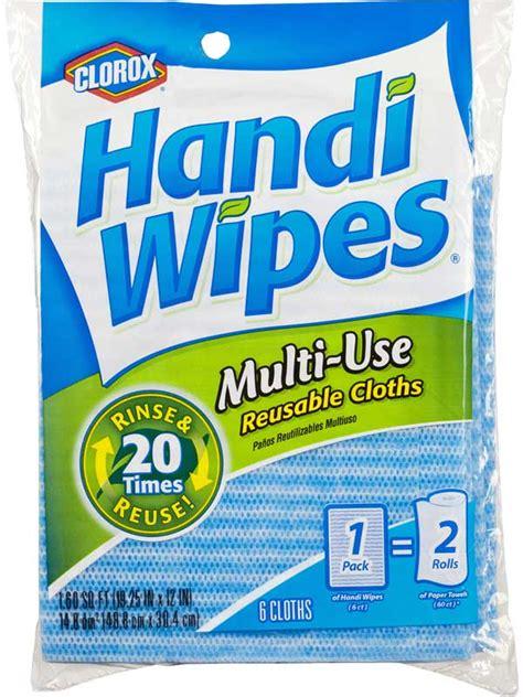 amazoncom clorox handi wipes multi  reusable cloths  count pack   health personal
