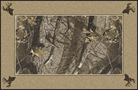 camouflage area rugs hardwoods realtree bordered tree leaves camouflage area rug everything doormats wildlife