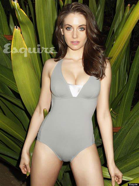 Emily Thompson Flowers alison brie community actress sizzles in esquire s