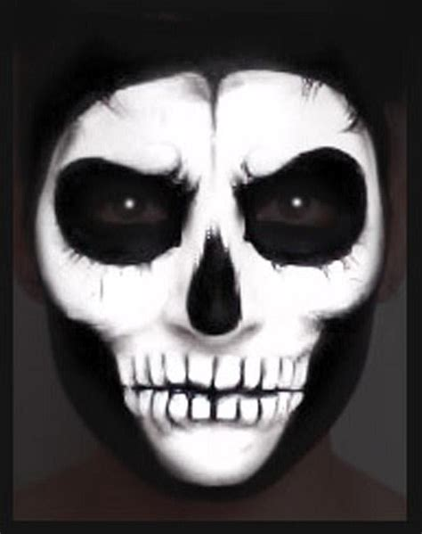 tutorial skull skull paint makeup tutorial nk