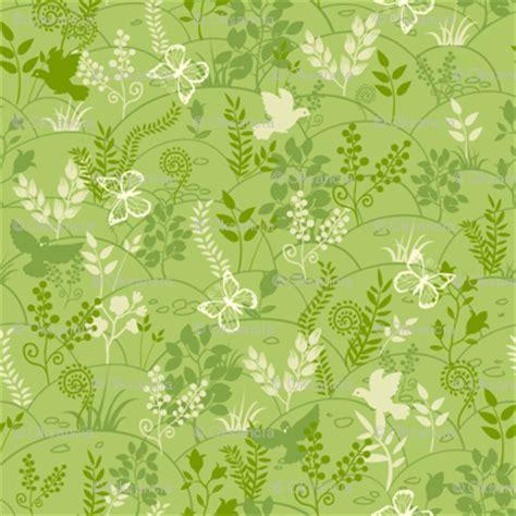 nature pattern fabric green nature fabric oksancia spoonflower