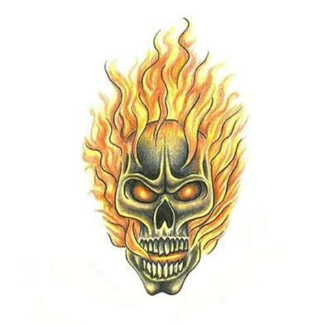 skull fire tattoo designs skull tattoos designs gallery unique pictures