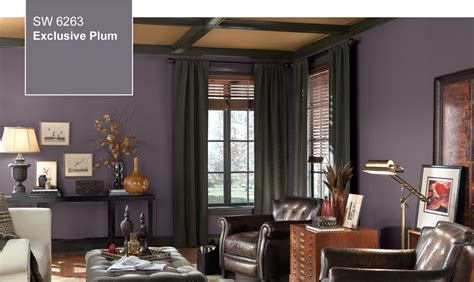 2014 color of the year exclusive plum sw 6263 by sherwin williams