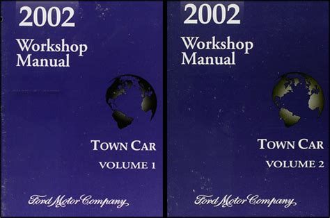 book repair manual 2003 lincoln town car security system 2002 lincoln town car repair shop manual original 2 volume set