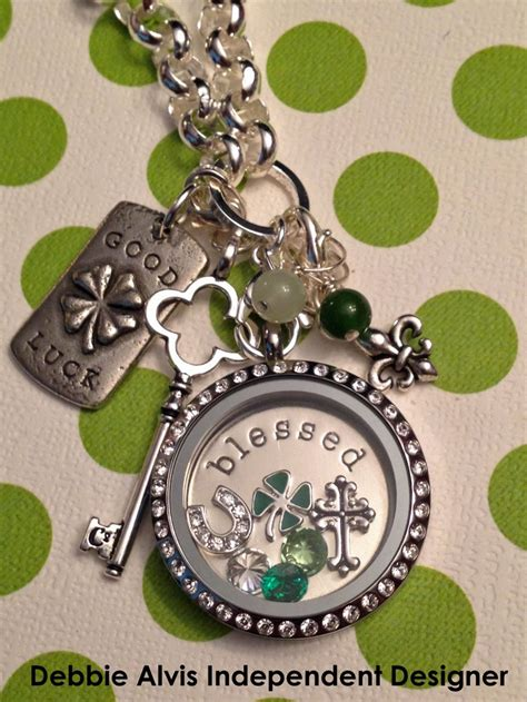 Size Of Origami Owl Lockets - st s day locket www debbiealvis origamiowl