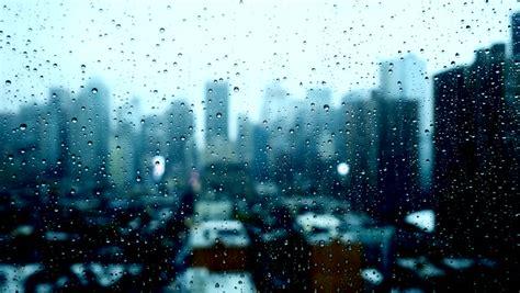 rainy day   city stock footage video  royalty