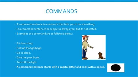 exle of command sentences worksheet commands exclamations dionne carey