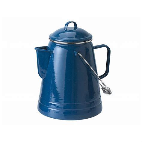 Coffee Boiler 36 cup coffee boiler blue 425624 cookware utensils