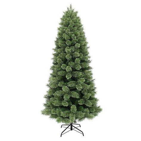 unlit white trees slim donner blitzen incorporated 7 5 westchester slim pine tree unlit shop