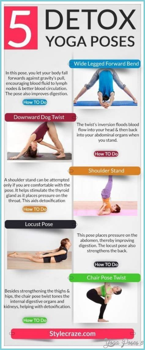 Can You Detox And Workout by 5 Best Poses Poses Yogaposes