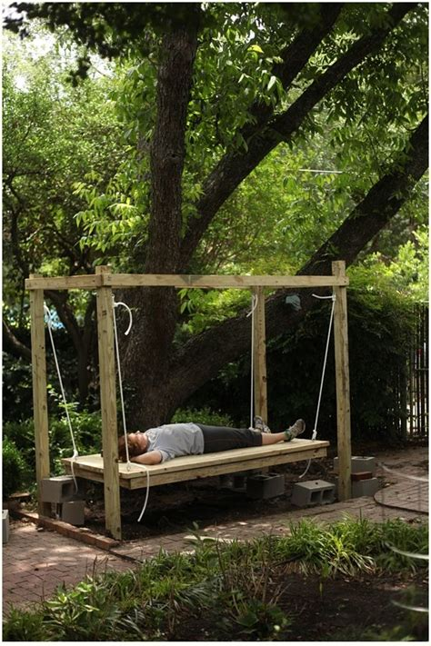 how to build a bed swing best 25 outdoor swing beds ideas on pinterest decks