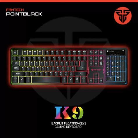 Fantech Keyboard Gaming K9 Chroma fantech k9 chroma luminous light ba end 12 29 2018 3 15 pm