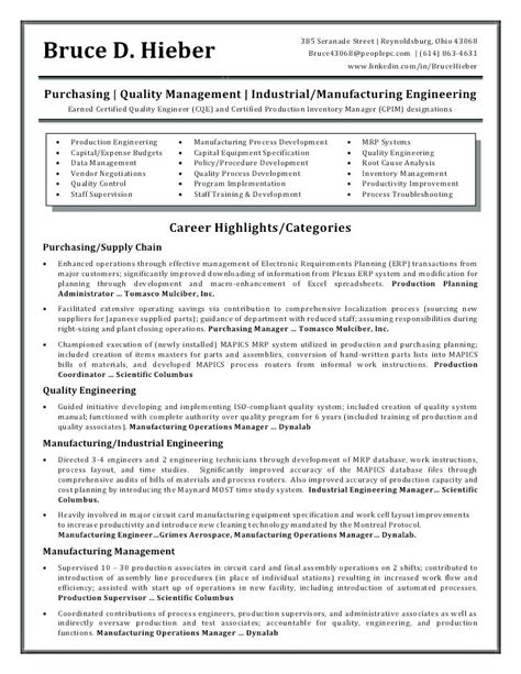 resume format for qa engineer sle aerospace quality engineer 28 images aerospace quality engineer sle resume resume cv cover