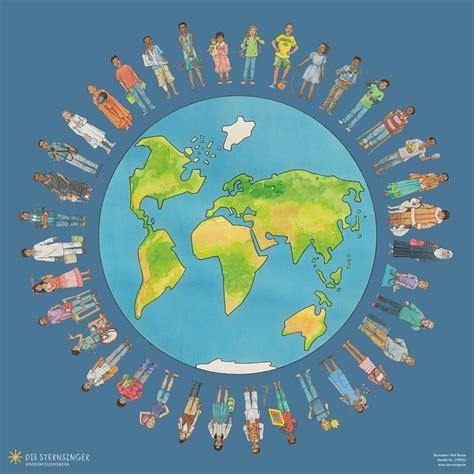 Plakat Welt unterrichtsmaterial kindermissionswerk quot die sternsinger quot