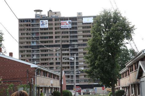 philadelphia housing authority section 8 queen lane implosion brings nostalgia news phillytrib com
