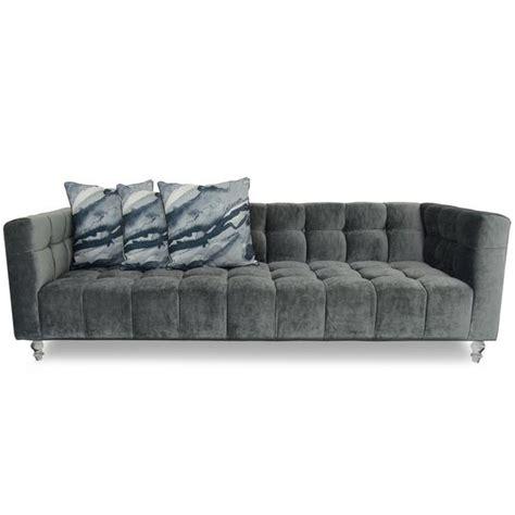 charcoal velvet sofa modern grey velvet sofa modshop modshop