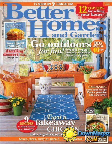 better homes and gardens au november 2015 187 download pdf magazines magazines commumity