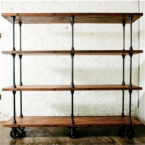 plumbing pipe shelves this pipe wood shelf ecuador