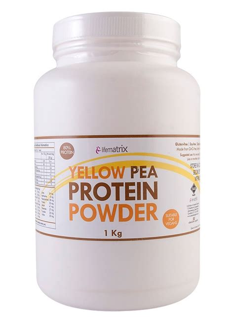 protein yellow yellow pea protein powder special offer faithful to nature