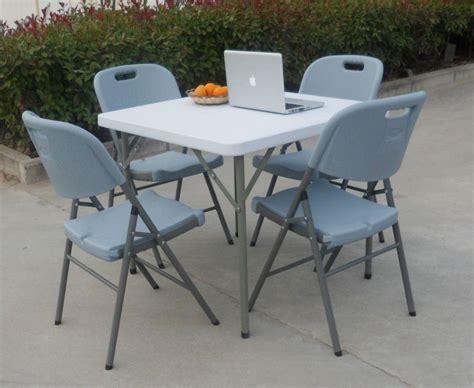 titan 3 x 3 square portable plastic table solid folding legs 86cm 3ft 3 wholesale fashion home folding plastic square