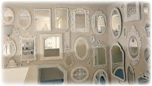 Wall Of Mirrors by Not So Shabby Shabby Chic More Mirrors Mirrors Mirrors