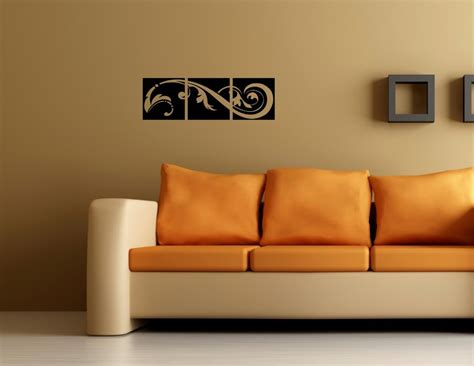 vinyl wall decor accents home decor accent 03 on wall