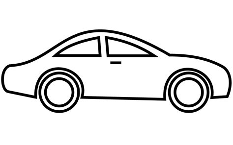 car logo black and white car clip black and white clipart panda free