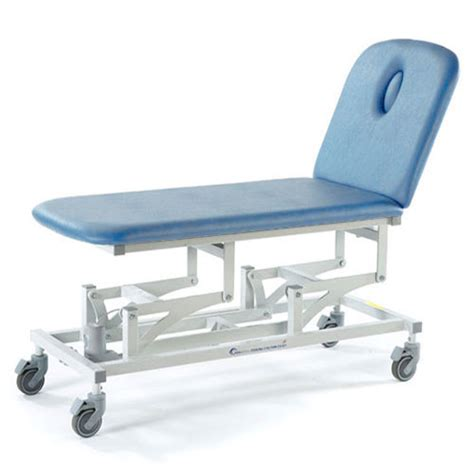physiotherapy couches sterling 2 section treatment couch sky blue sterling