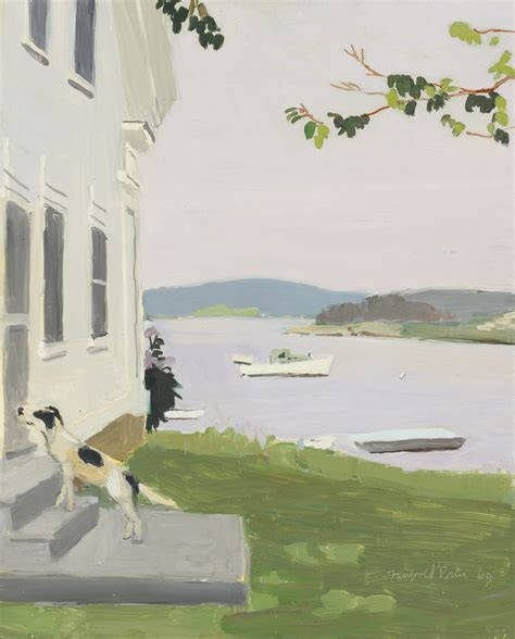 Maine Dining Room by Art History News Fairfield Porter At Auction