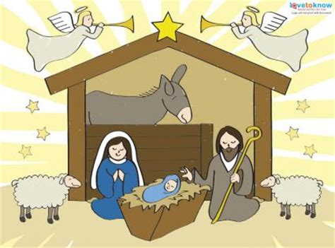 printable pictures of the nativity scene printable nativity scenes lovetoknow