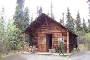 cabin in denali national park flickr photo