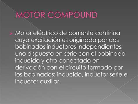 bobinado inductor motores de corriente alterna y corriente directa