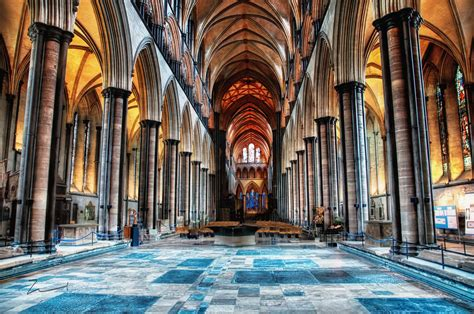 Hd Interior Salisbury Cathedral Photographing London